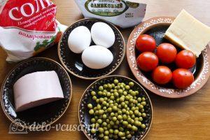 Салат Снеговик: Ингредиенты
