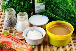 Соус Ранч с зеленью и чесноком: Ингредиенты