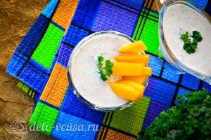 Соус Ранч с зеленью и чесноком готов