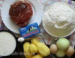 Татарские пирожки Вак балиш: Ингредиенты