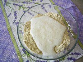 Татарские пирожки Вак балиш: Добавить кефир в тесто