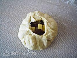 Татарские пирожки Вак балиш: Сформировать пирожок