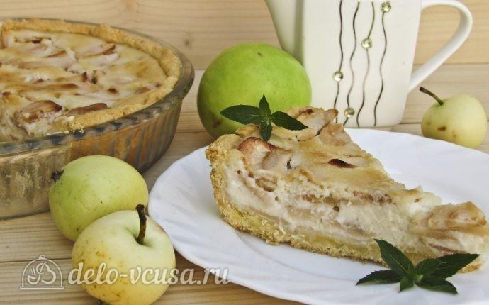 Рецепт яблочный пирог марины цветаевой