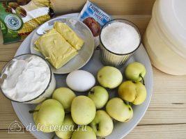 Яблочный Пирог Марины Цветаевой: Ингредиенты