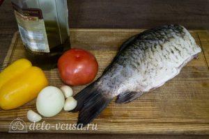 Запеченный карась с овощами: Ингредиенты