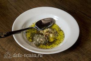 Запеченный карась с овощами: Приготовить заправку