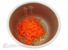 Каша из чечевицы в мультиварке: Добавить морковь
