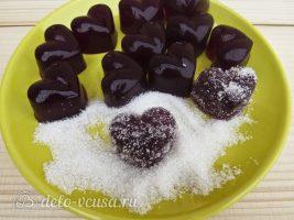 Вишневый мармелад: Обвалять в сахаре