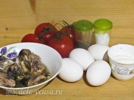 Фаршированные яйца Мухоморы: Ингредиенты