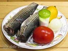 Кефаль, запеченная в фольге в духовке: Ингредиенты