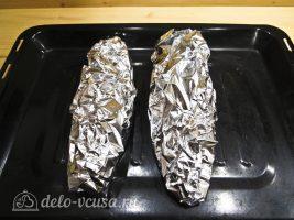 Кефаль, запеченная в фольге в духовке: фото к шагу 9