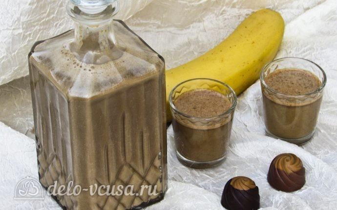 Кофейно-банановый ликер