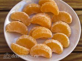 Тыквенный конфитюр с мандаринами: Подготовить мандарин
