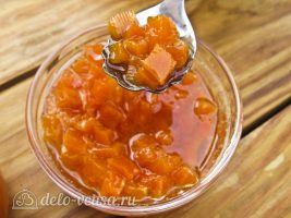 Тыквенный конфитюр с мандаринами готов