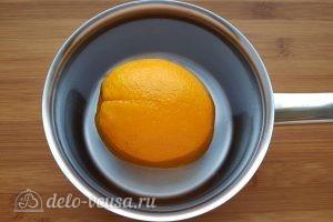 Королевский сырник с апельсином: Вымыть апельсин