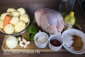 Курица на банке в духовке: Ингредиенты