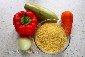 Кус-кус с овощами: Ингредиенты