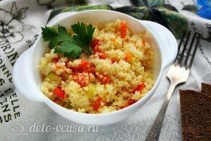 Кус-кус с овощами готов