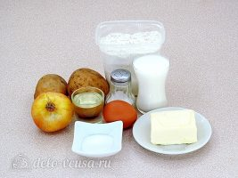 Кыстыбый с картошкой: Ингредиенты