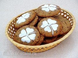 Печенье с кусочками шоколада: фото к шагу 11.