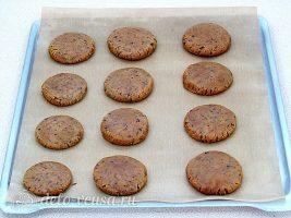 Печенье с кусочками шоколада: фото к шагу 8.