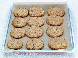 Печенье с кусочками шоколада: фото к шагу 9.