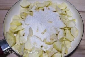 "Пирог ""Яблоки под снегом"": фото к шагу 10"