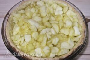 "Пирог ""Яблоки под снегом"": фото к шагу 12"