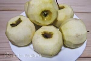"Пирог ""Яблоки под снегом"": фото к шагу 9"