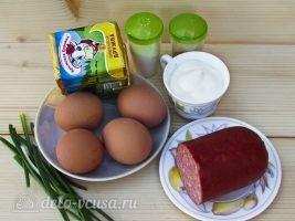 Новогодний салат Елочная игрушка: Ингредиенты