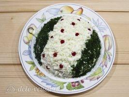 Новогодний салат Елочная игрушка: Украшаем по вкусу