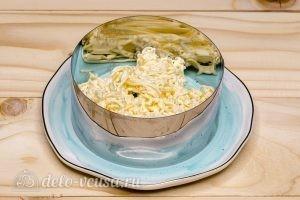 Салат Снежная королева: Собираем салат