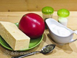 Салат из помидоров и сыра: Ингредиенты