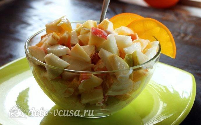 Фруктовый салат с грушей