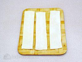 Слойки с печенью: Подготовить тесто