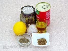 Тапенад из оливок: Ингредиенты
