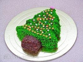 Новогодний торт Елочка: Украсить торт