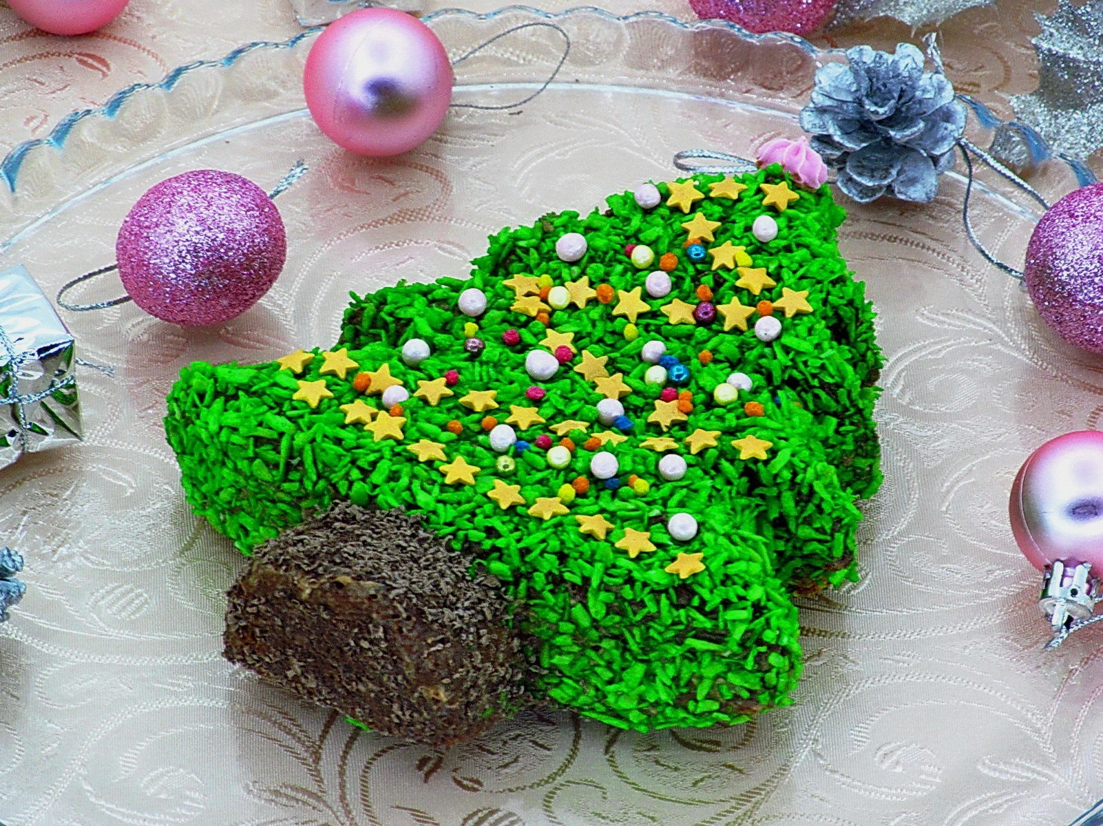 Новогодний торт Елочка