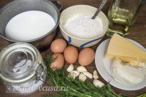 Блины с адыгейским сыром: Ингредиенты