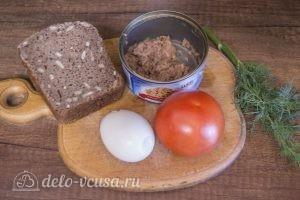 Бутерброды с тунцом, помидорами и яйцом: Ингредиенты