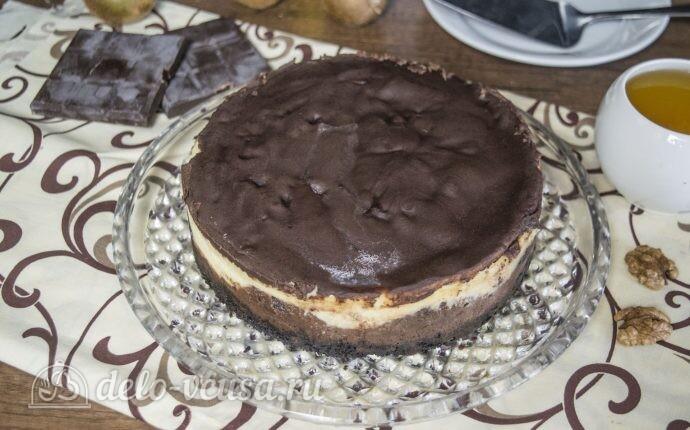 Шоколадный чизкейк с печеньем Орео