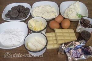 Шоколадный чизкейк с печеньем Орео: Ингредиенты