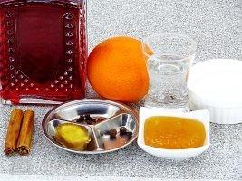 Глинтвейн с имбирем и апельсином: Ингредиенты