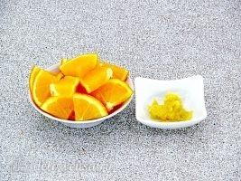 Глинтвейн с имбирем и апельсином: Имбирь и апельсин подготовить