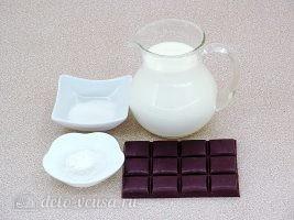 Густой горячий шоколад: Ингредиенты