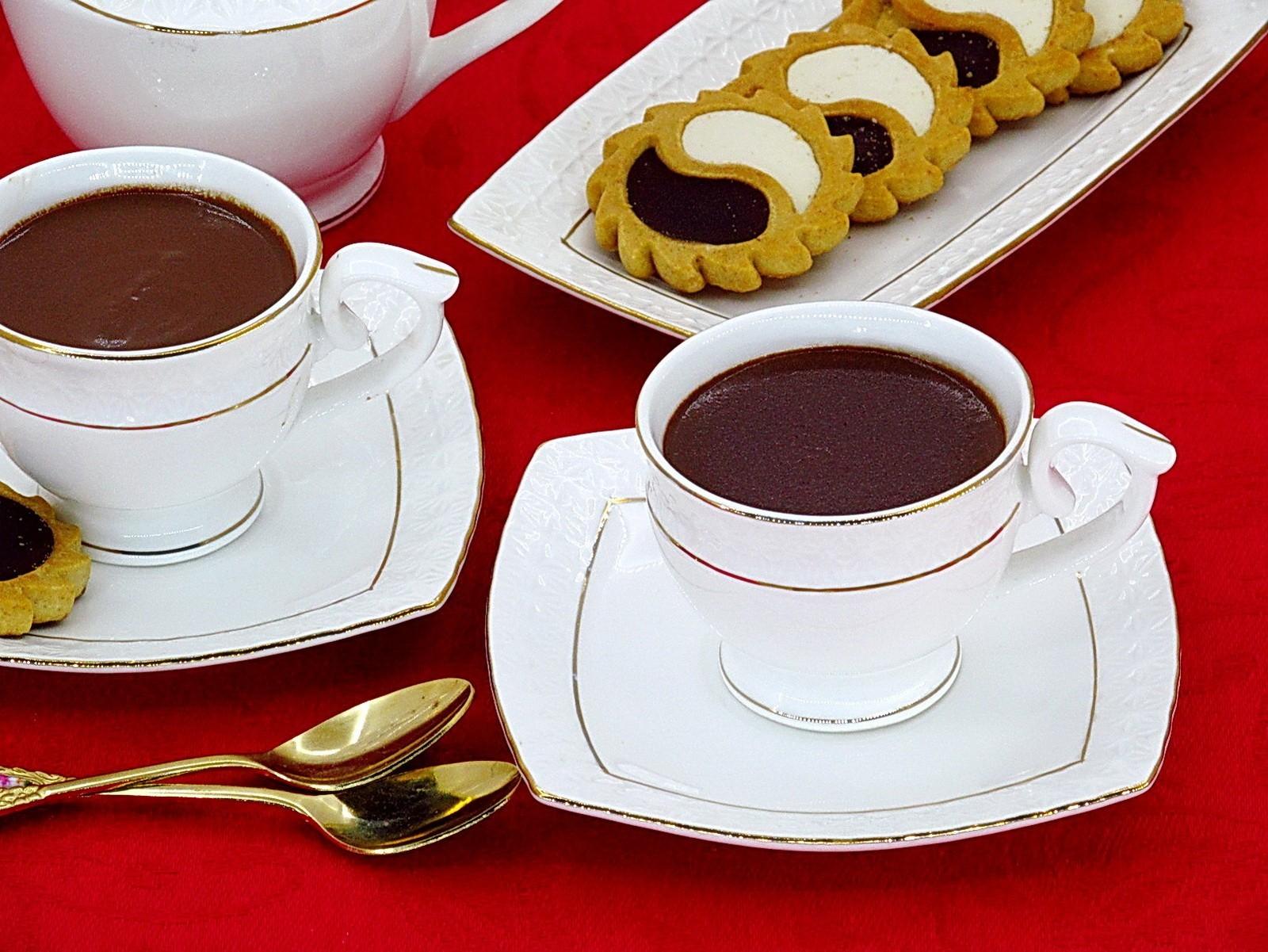 Густой горячий шоколад, пошаговый рецепт с фото