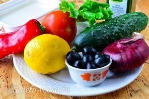 Греческий салат в банке: Ингредиенты