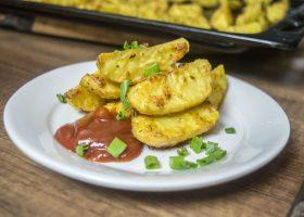 Картофель с пармезаном в духовке