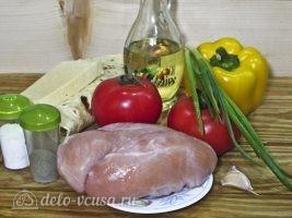 Кесадилья с курицей и сыром: Ингредиенты