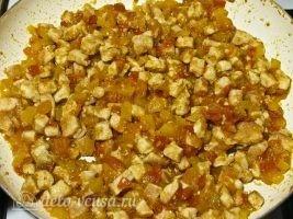 Кесадилья с курицей и сыром: Доводим до готовности